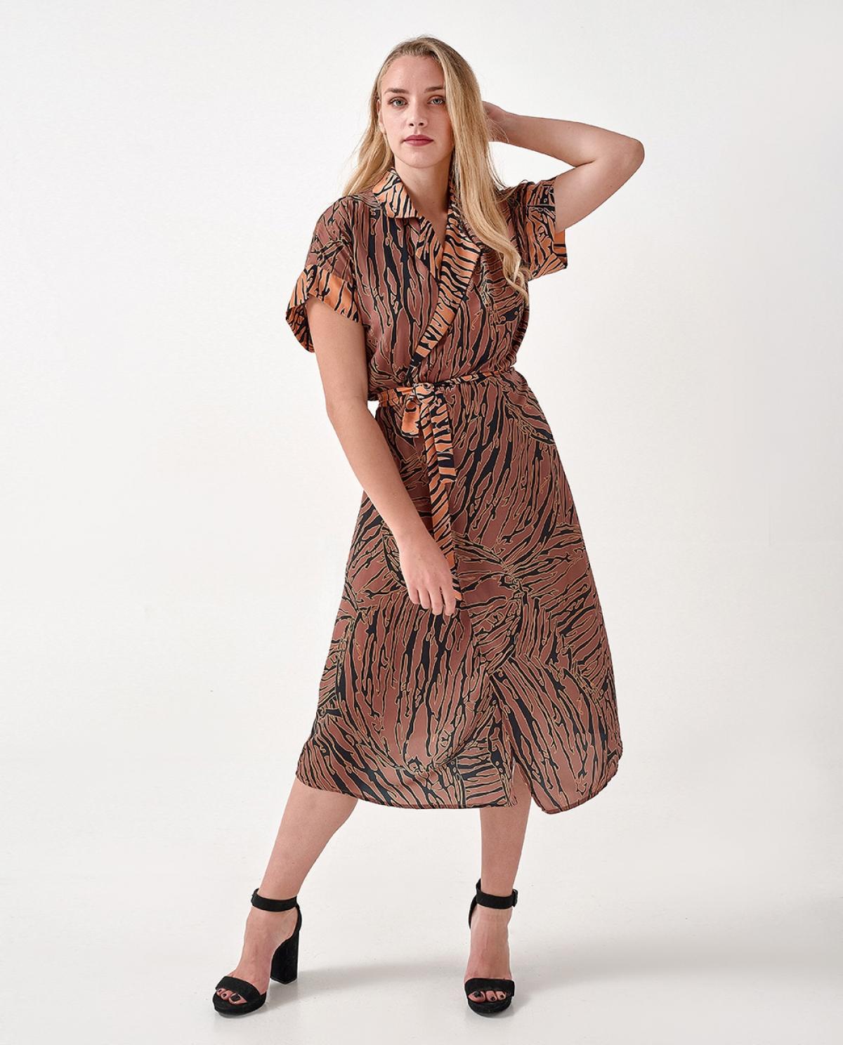 Europe Midi Crouaze Dress