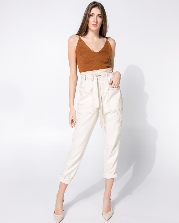 Eve Cream Jeans