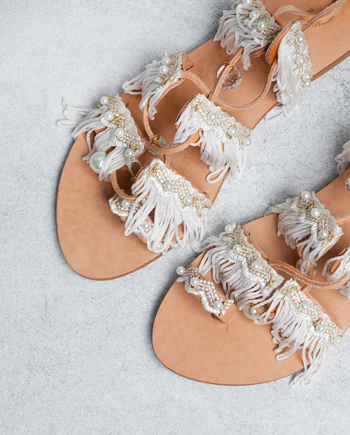 e05f6a2b1 Ever After Tie-up Leather Sandals - Fashionnoiz