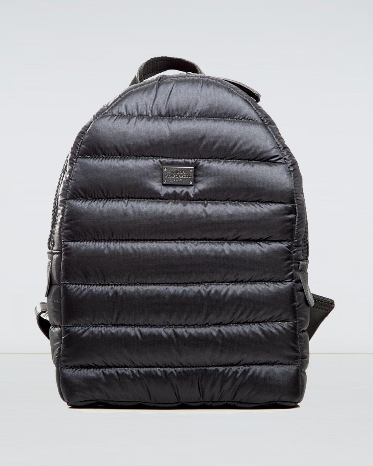 Fly Away Black Puffer Backpack