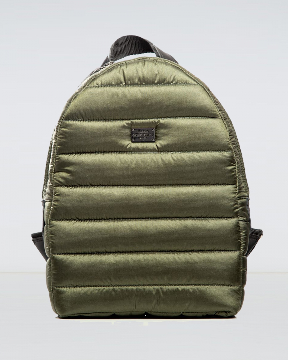 Fly Away Khaki Puffer Backpack