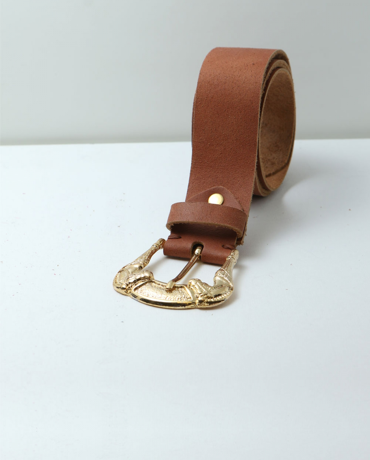 Free Suede Leather Belt