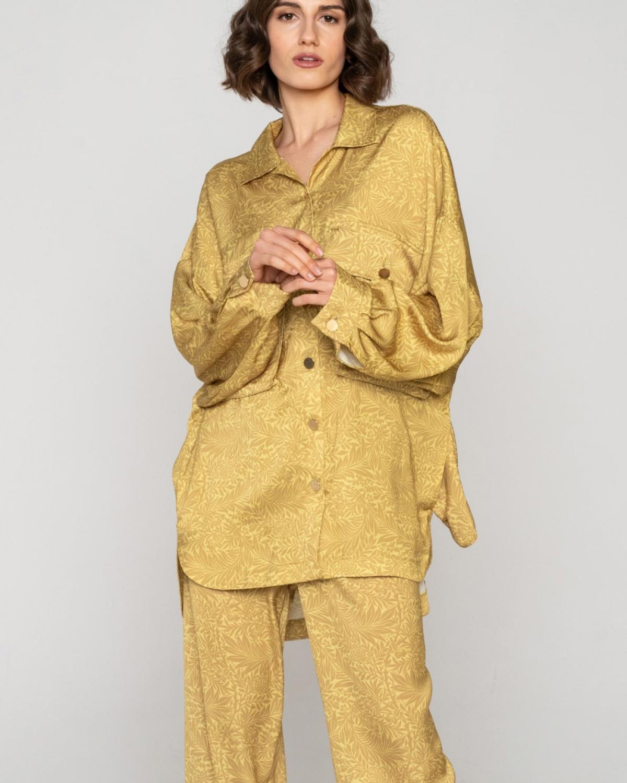 Fylla Long Lime Shirt