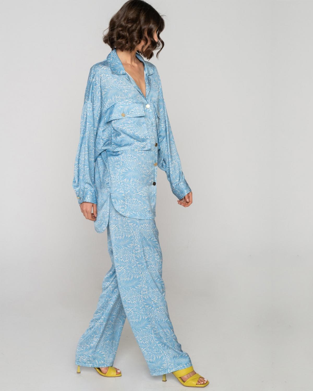 Fylla Long Turquoise Pants