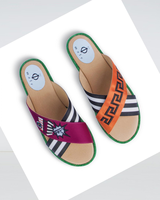 Gelato - Paprica Black Crossover Espadrille Sandal