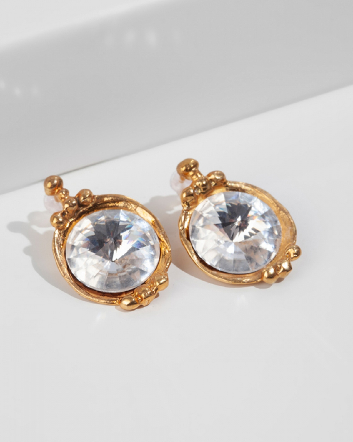 GEORGIANA Gold Earrings