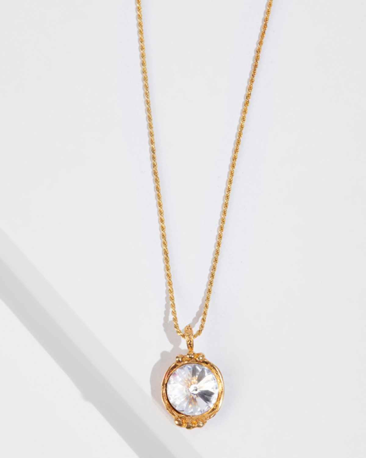 GEORGIANA Gold Pendat/Necklace