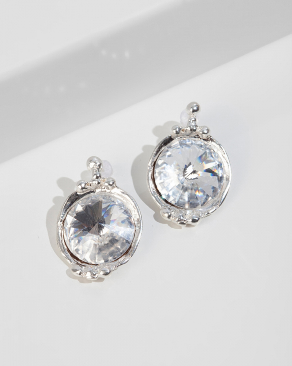 GEORGIANA Silver Earrings