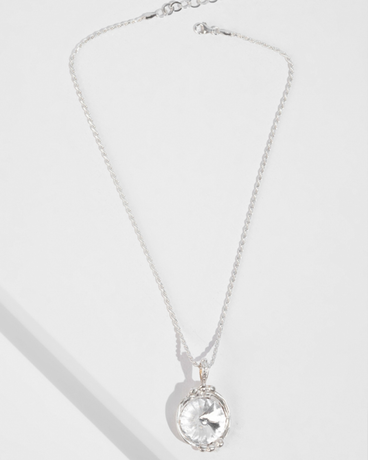 GEORGIANA Silver Pendat/Necklace
