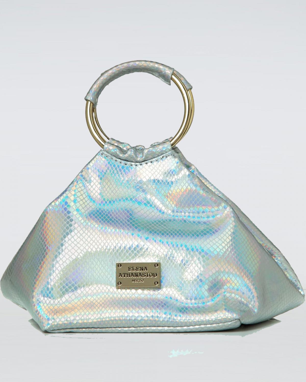 Glitter Silver Bracelet Bag