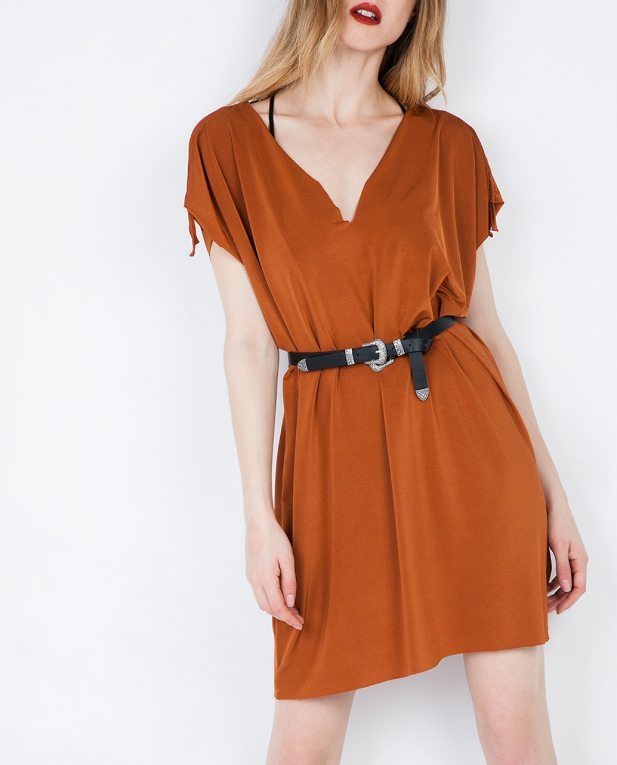 Glory Crepe Mini Dress