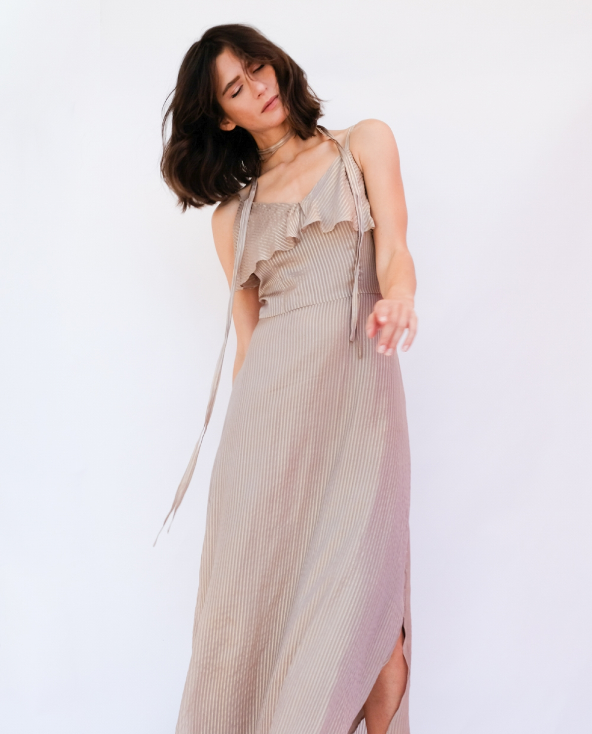 Silk Ramadi Maxi Dress