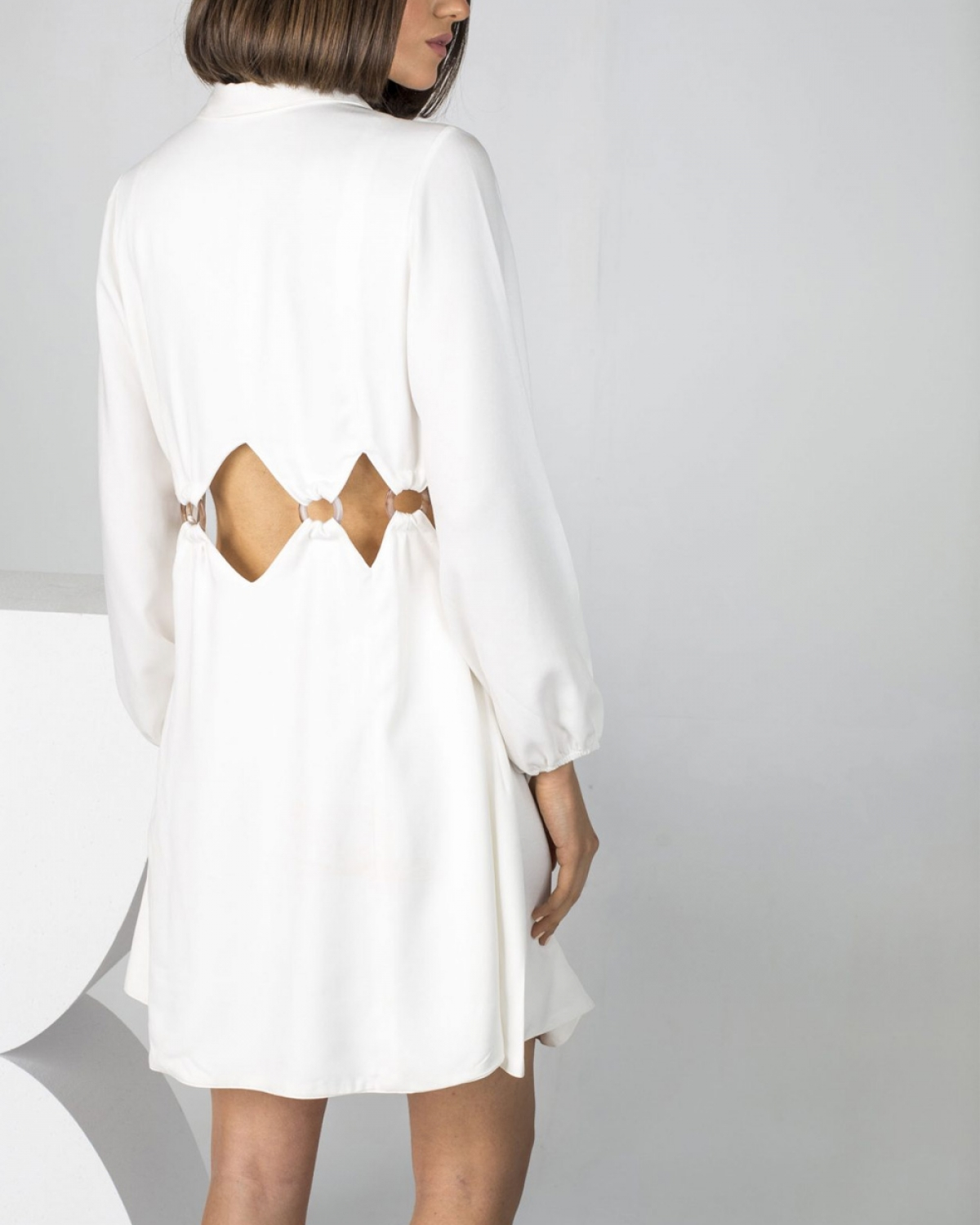 Harmony White Dress