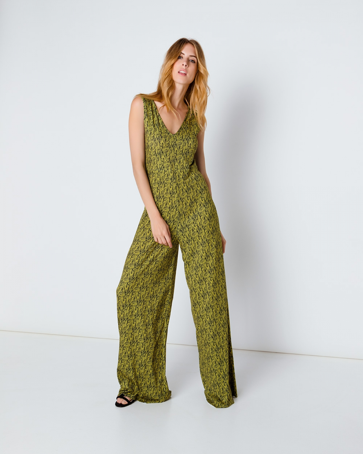Ileana Green Jumpsuit