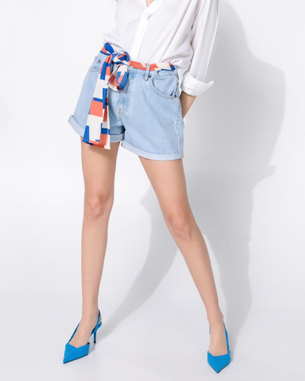 ION Boyfriend Denim Shorts