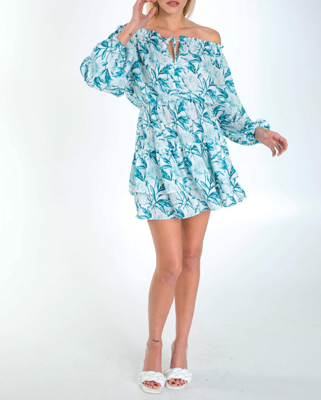 Isabella Mini Ruffled Dress