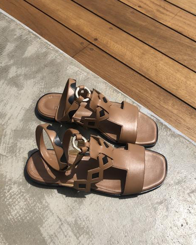 JANE  Brown Sandals