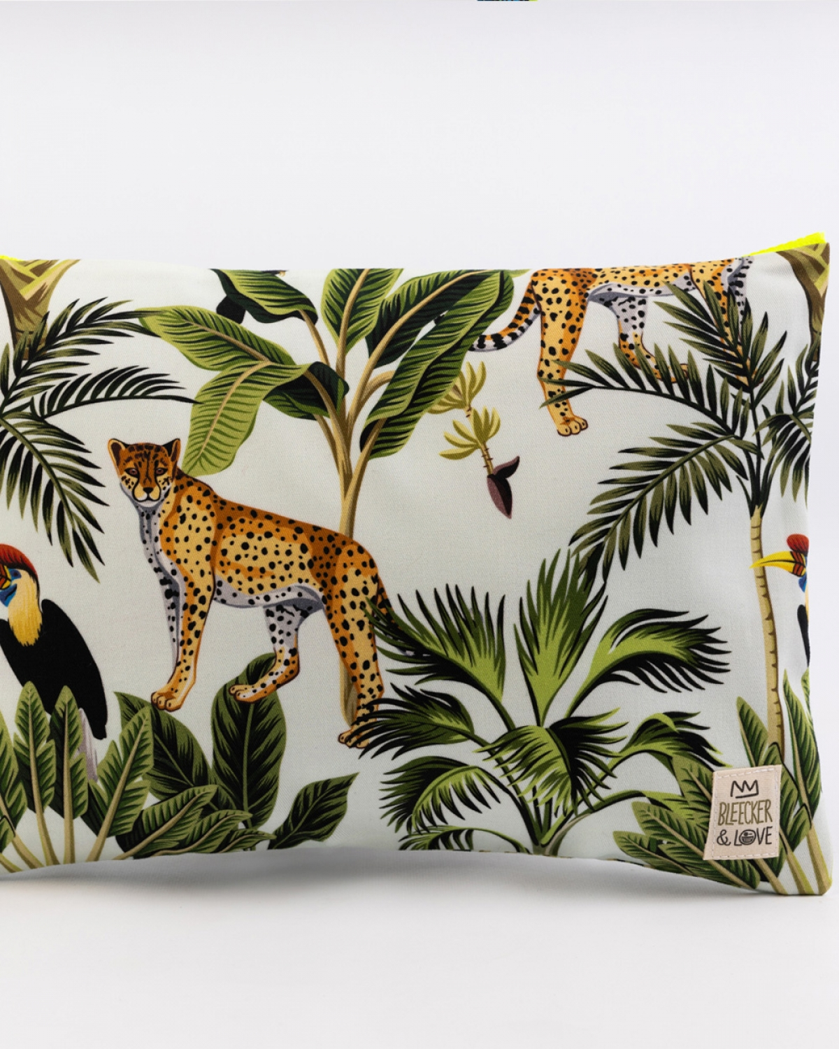 Jungle Printed Medium Clutch