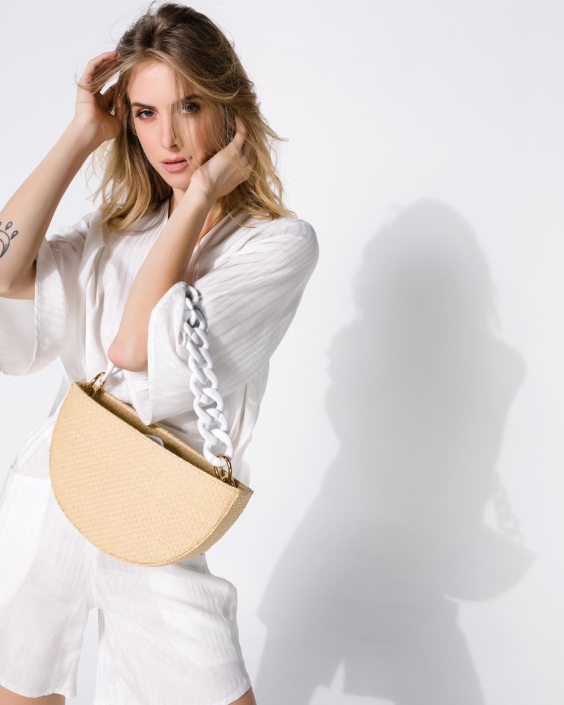 Kallisti Natural Milk Straw Bag