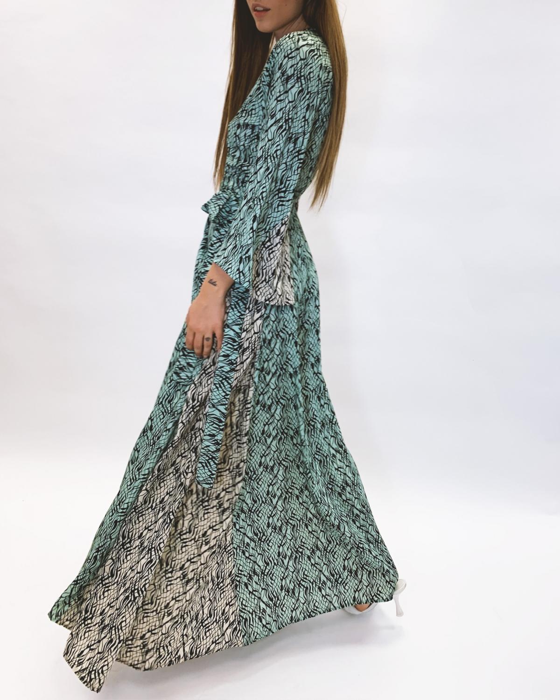 Kalypso Crouaze Kaftan Dress