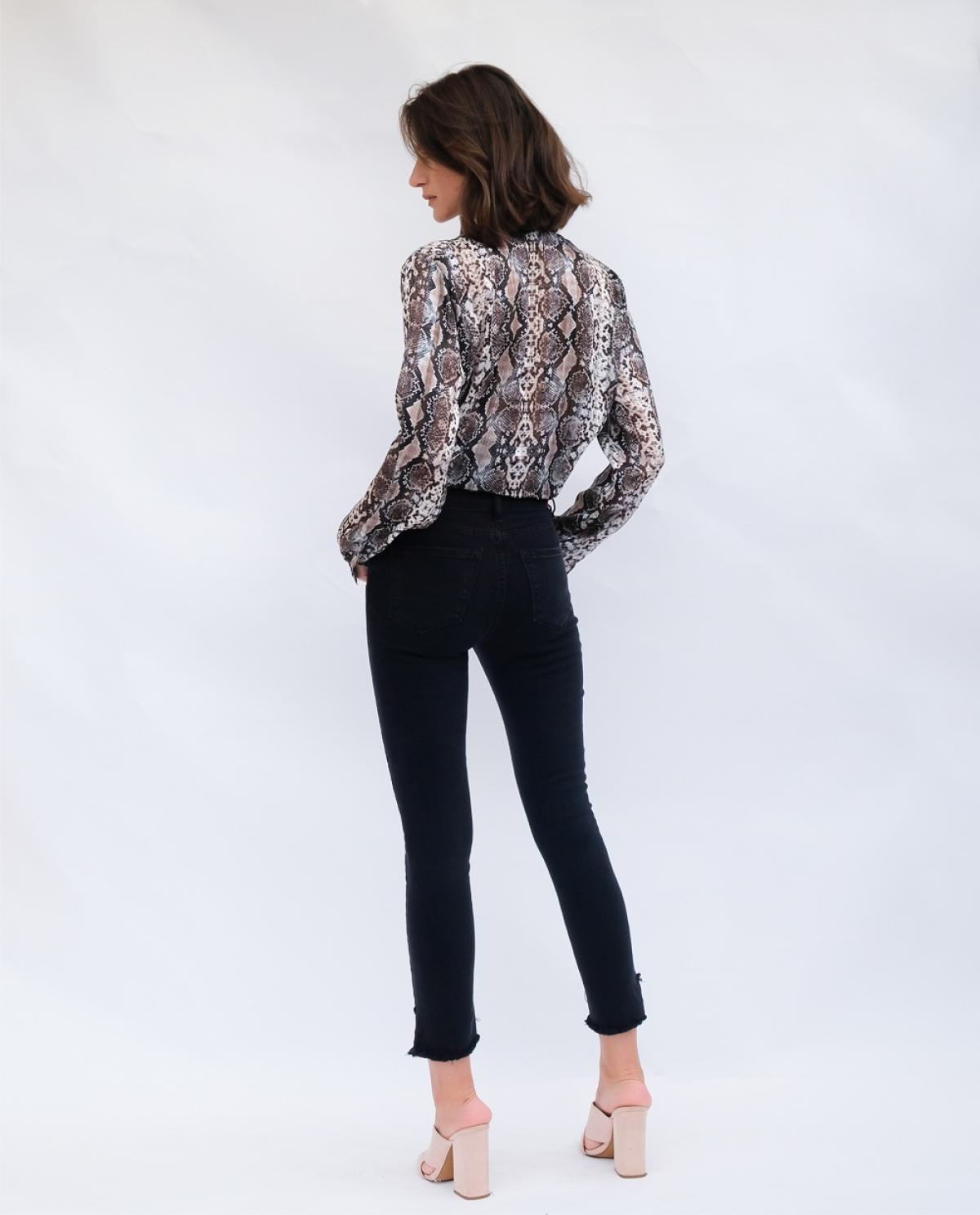 Kate Black S/W Cropped Jeans