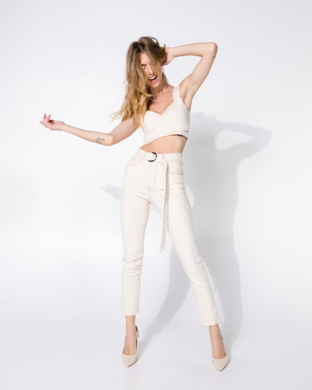 Kate Cream +B Jeans