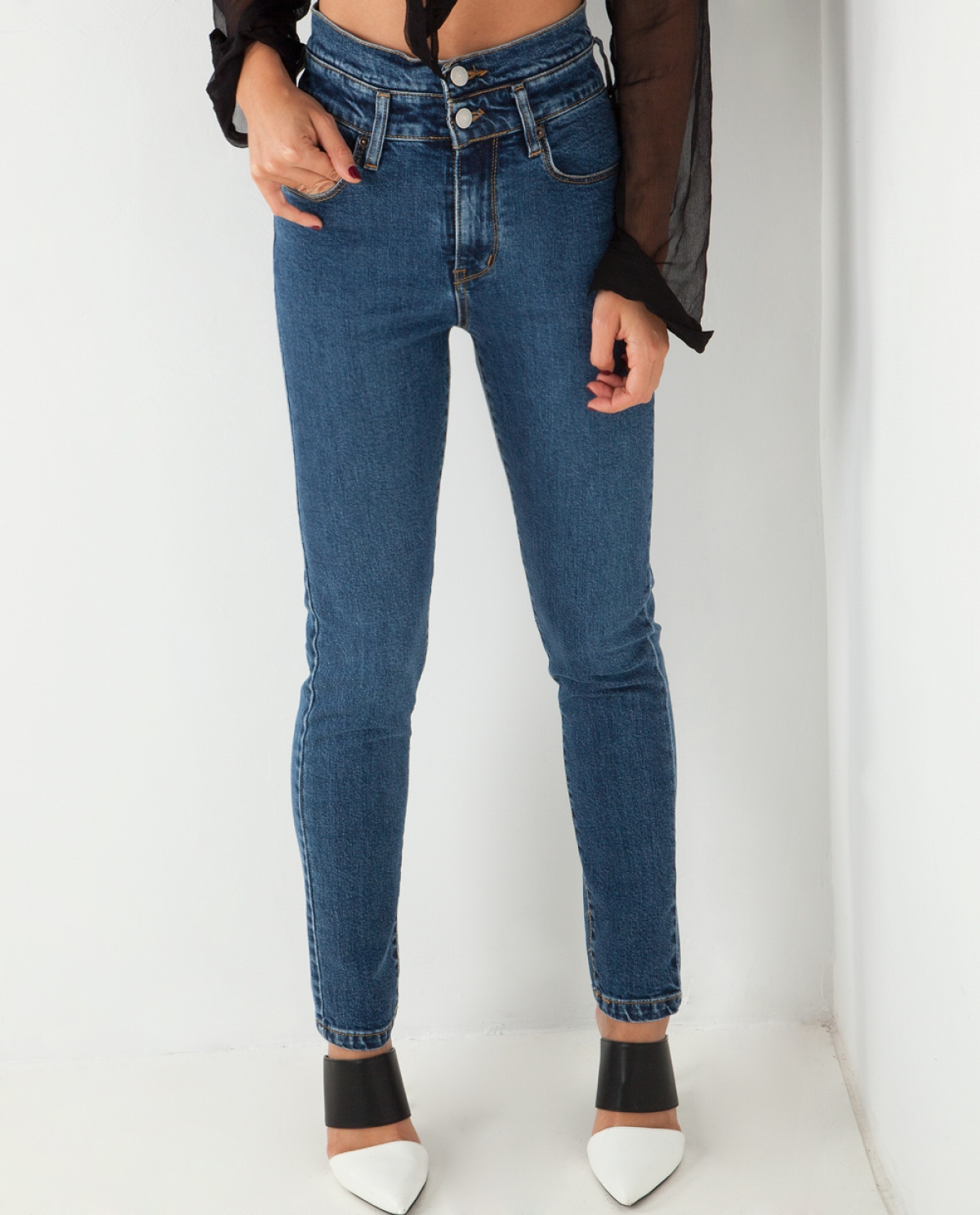 Kate SW Double Skinny Jeans