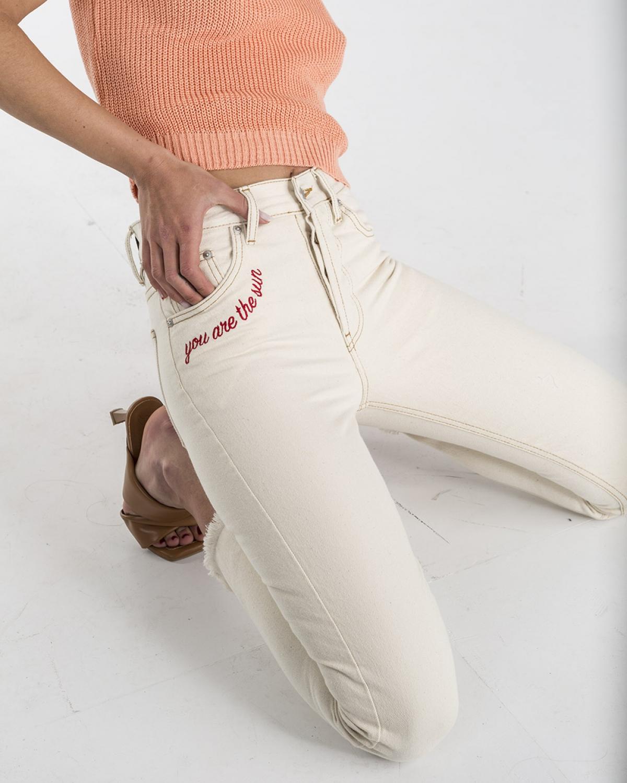 Kelly Cream The Sun Jeans