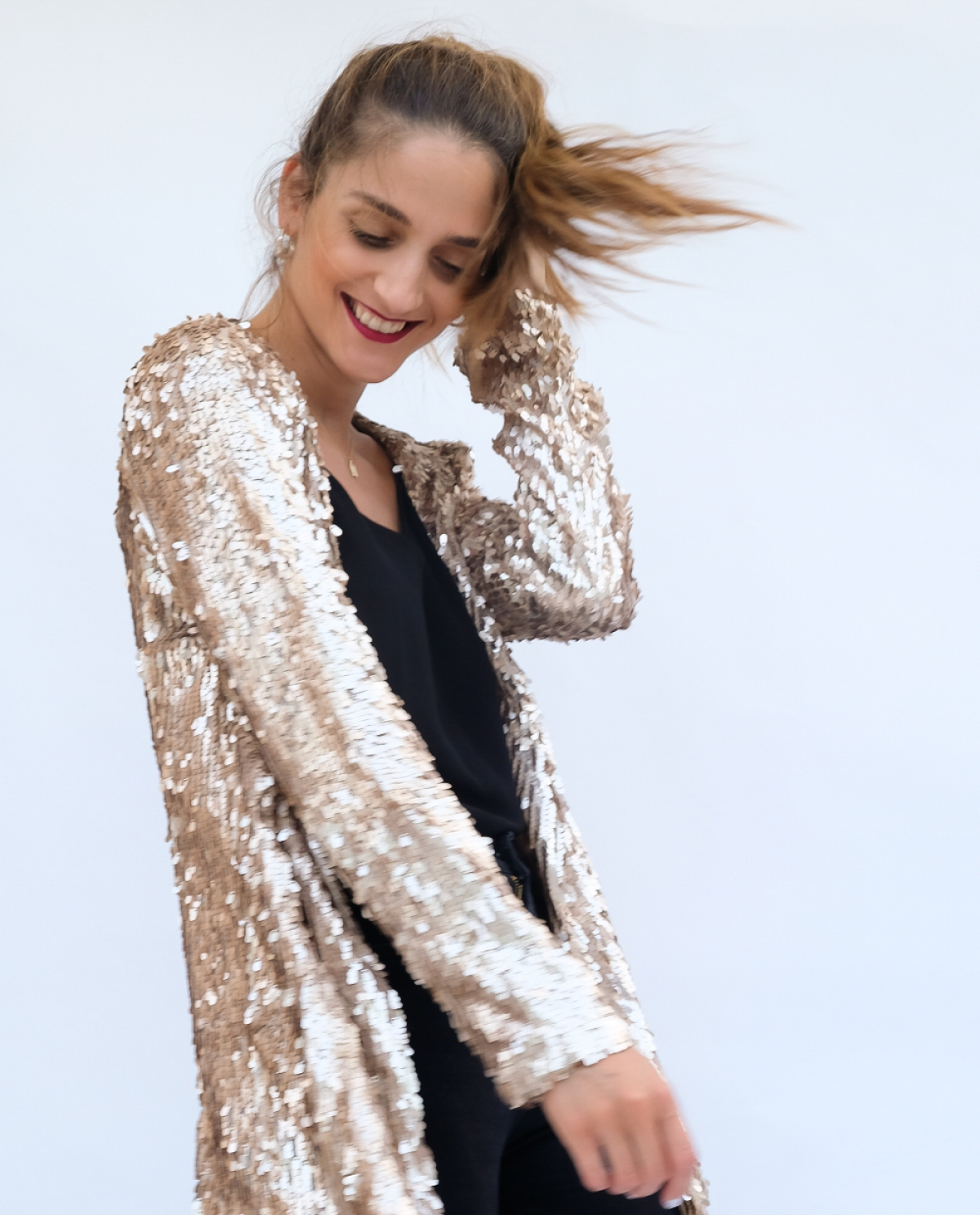 Kidman Sequined Viscose Jacket
