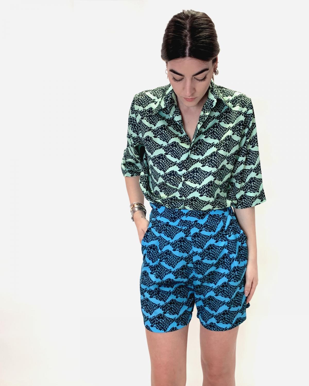 Kirki Pijama Printed Shirt