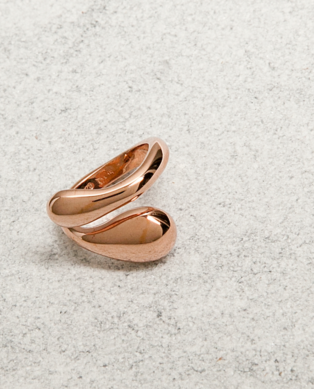 Lacrima Rose Gold Ring