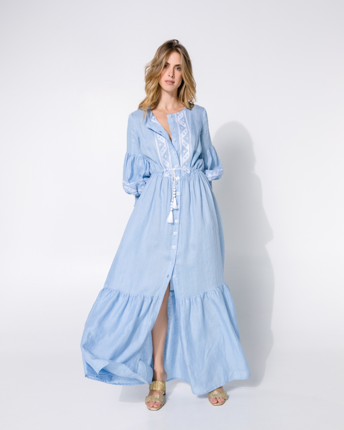 Lagun Light Blue Dress