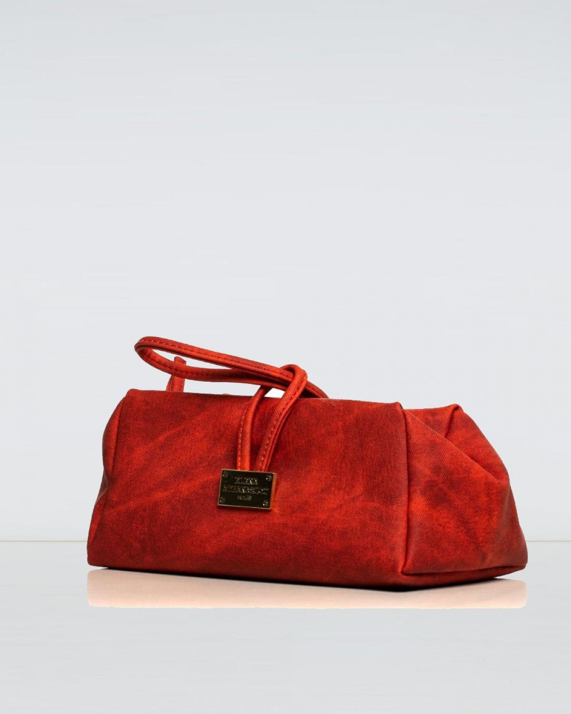 Large Jean Pattern Red