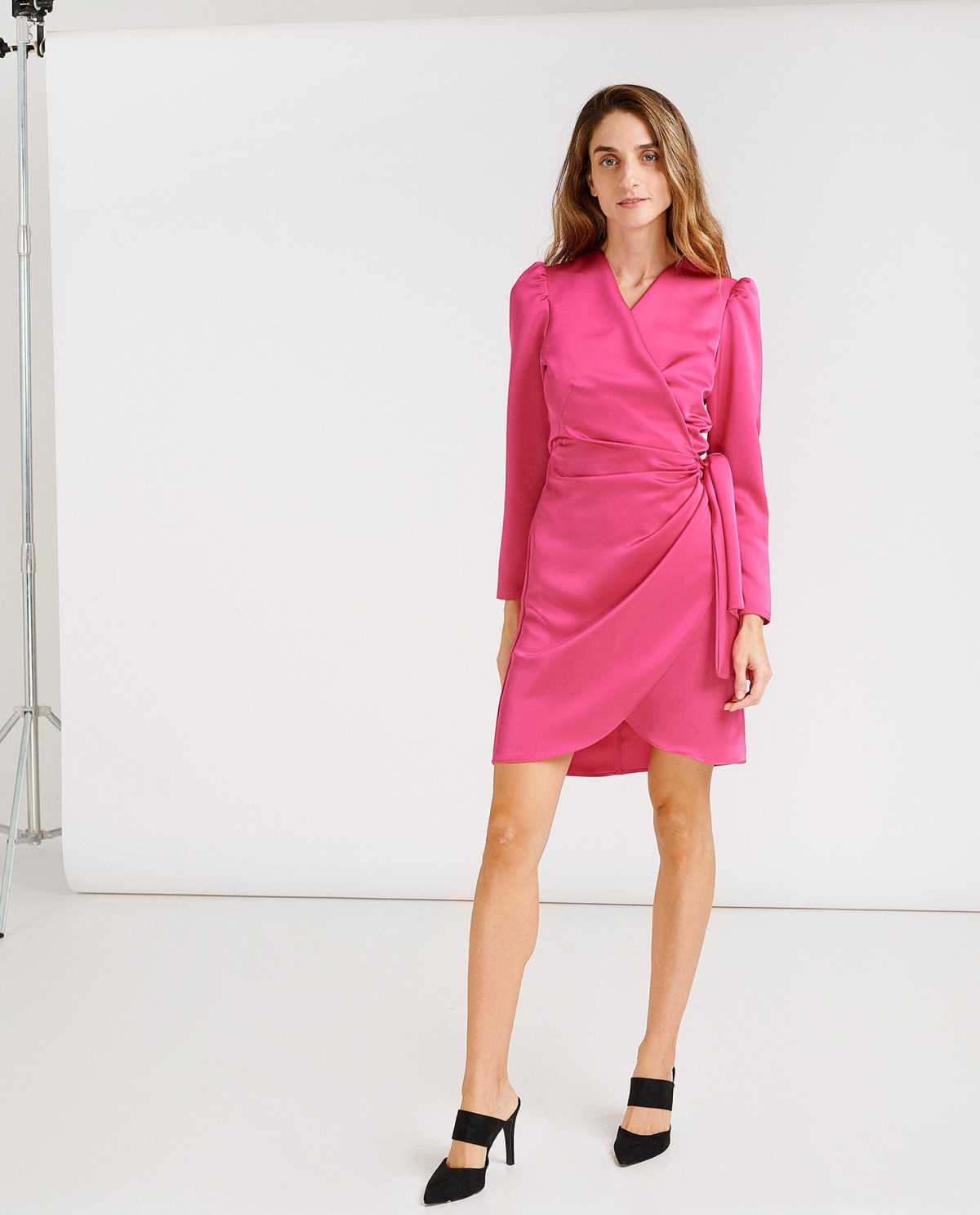 Lava Fuchsia Dress