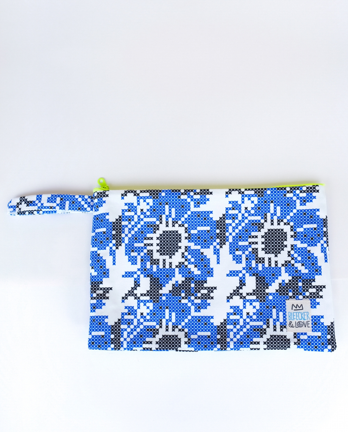 Loubicute Printed Medium Canvas Clutch