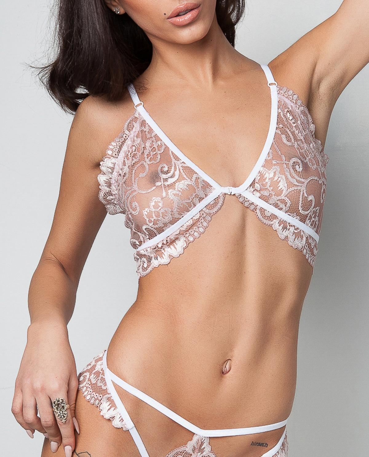 Marshmallow Lace Lingerie Set