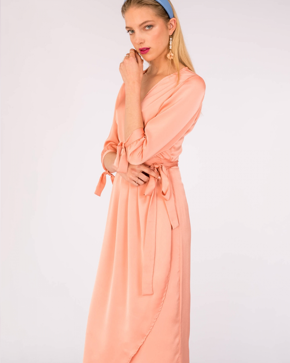 Mocrysta Peach Dress