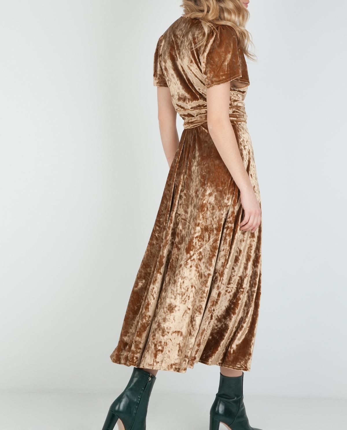Moonchild Velvet Wrap Dress