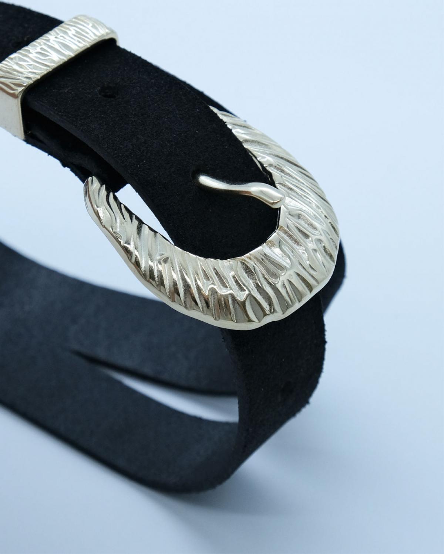 Myriam Black Leather