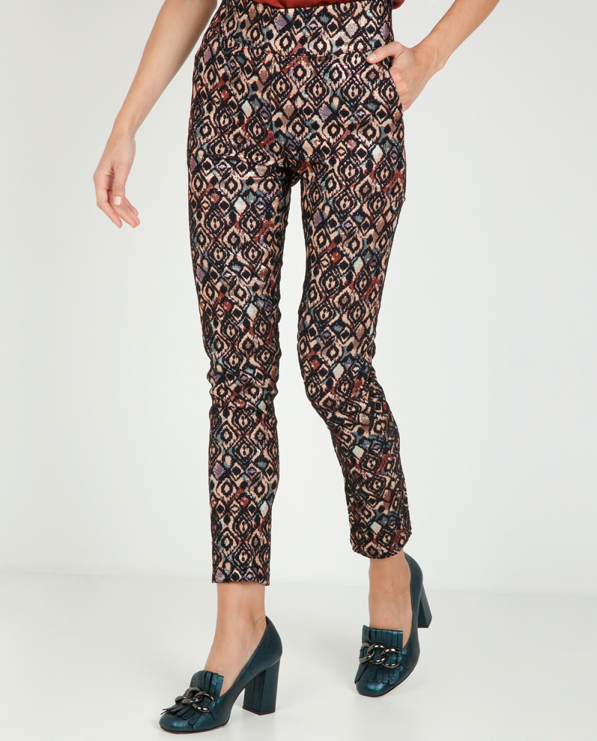 Nightfall Shimmery Skinny Trousers