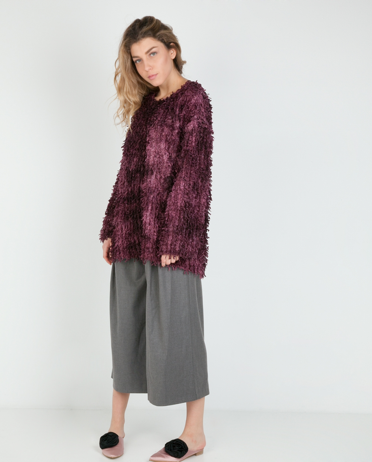 Nightgale Fringe-trimmed Sweater