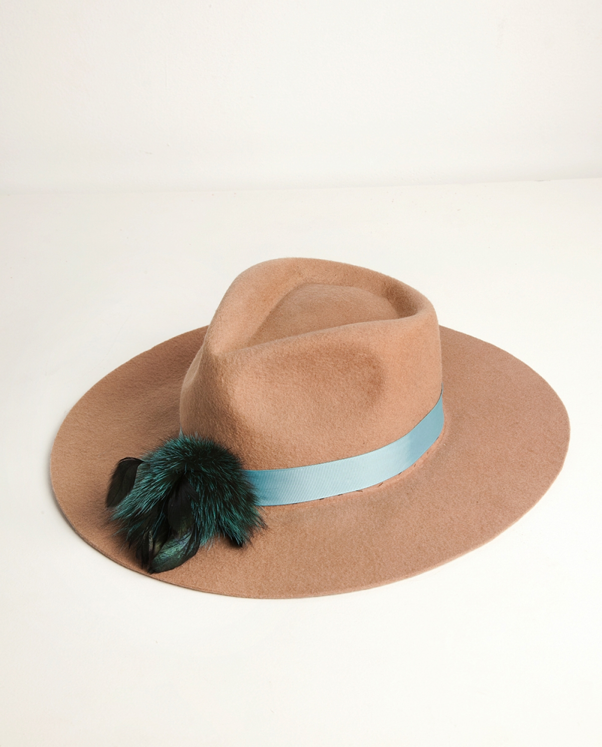 Ogden Feather-embellished Felt Hat