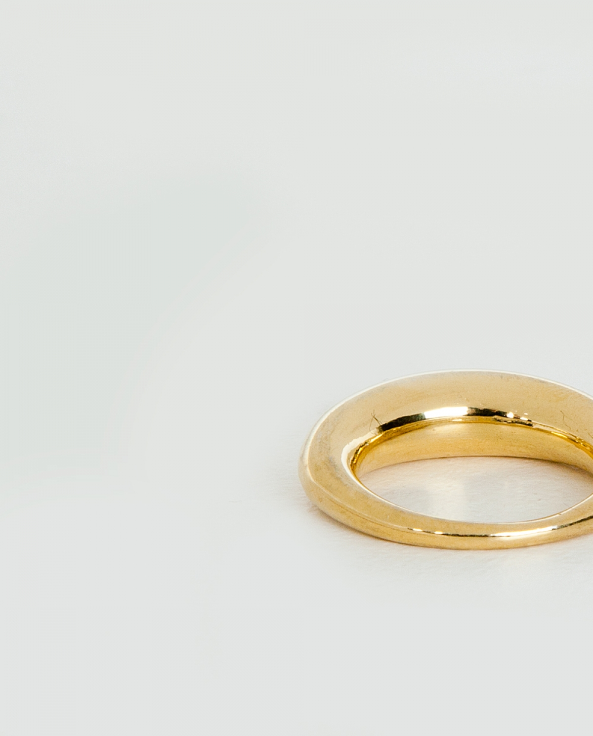 Olivia Gold-plated Sterling Silver Ring