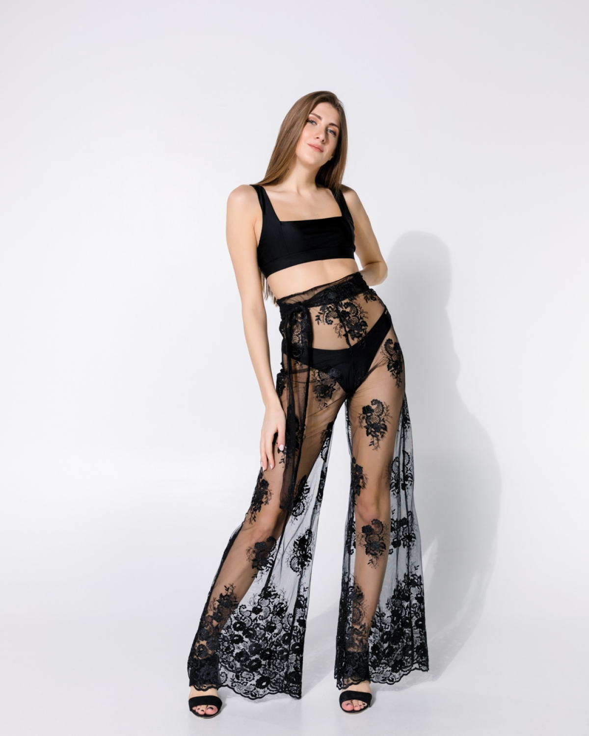 Only One Wide Lace Pants