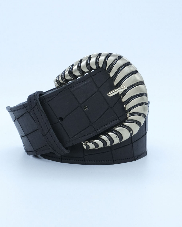 Pauline Black Leather