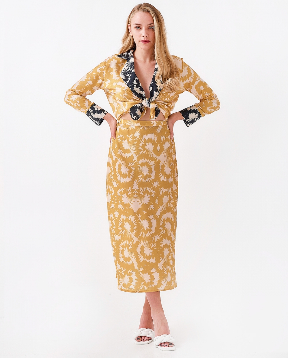 Perseas Midi Slip Skirt