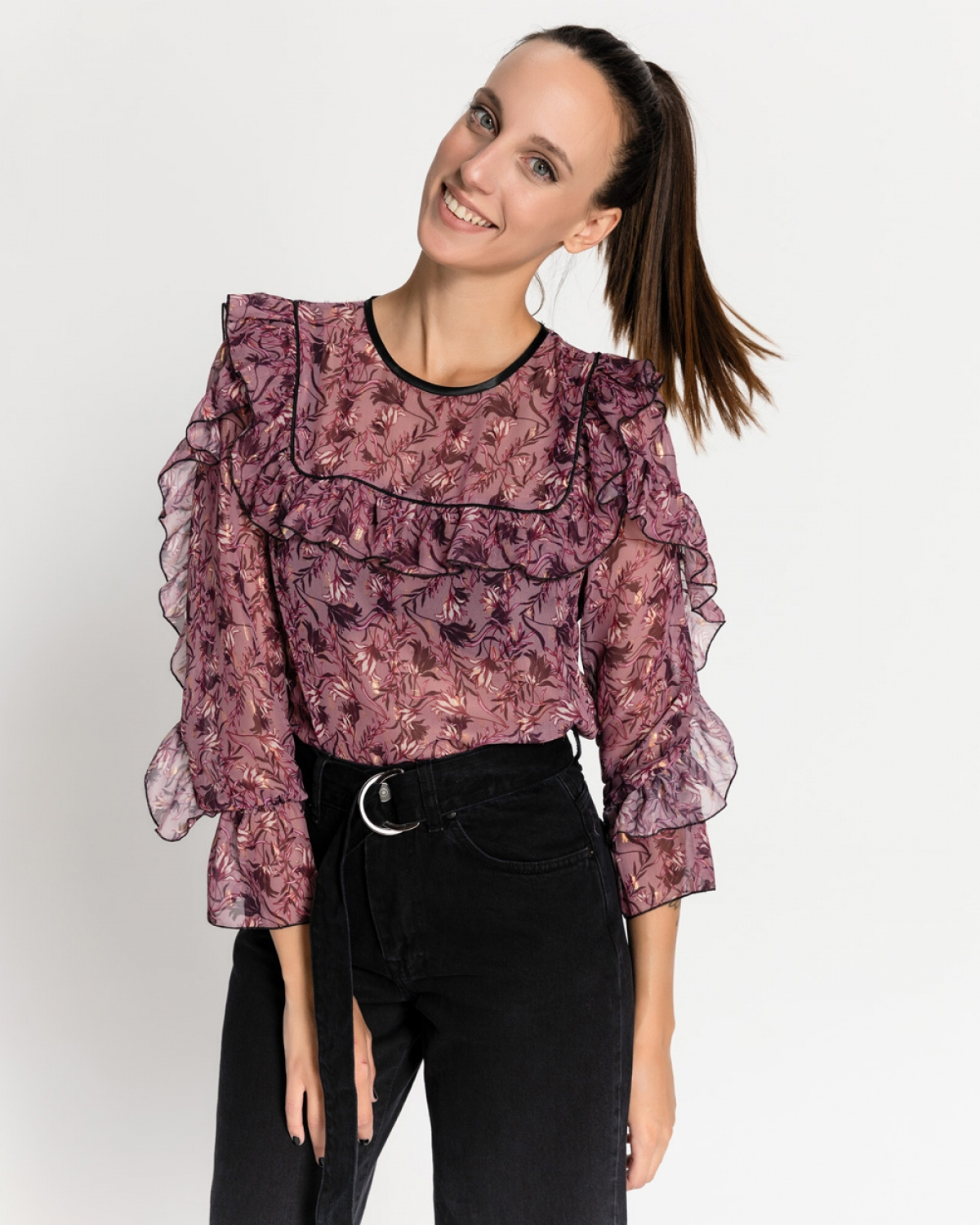 Pieter Ruffled Top