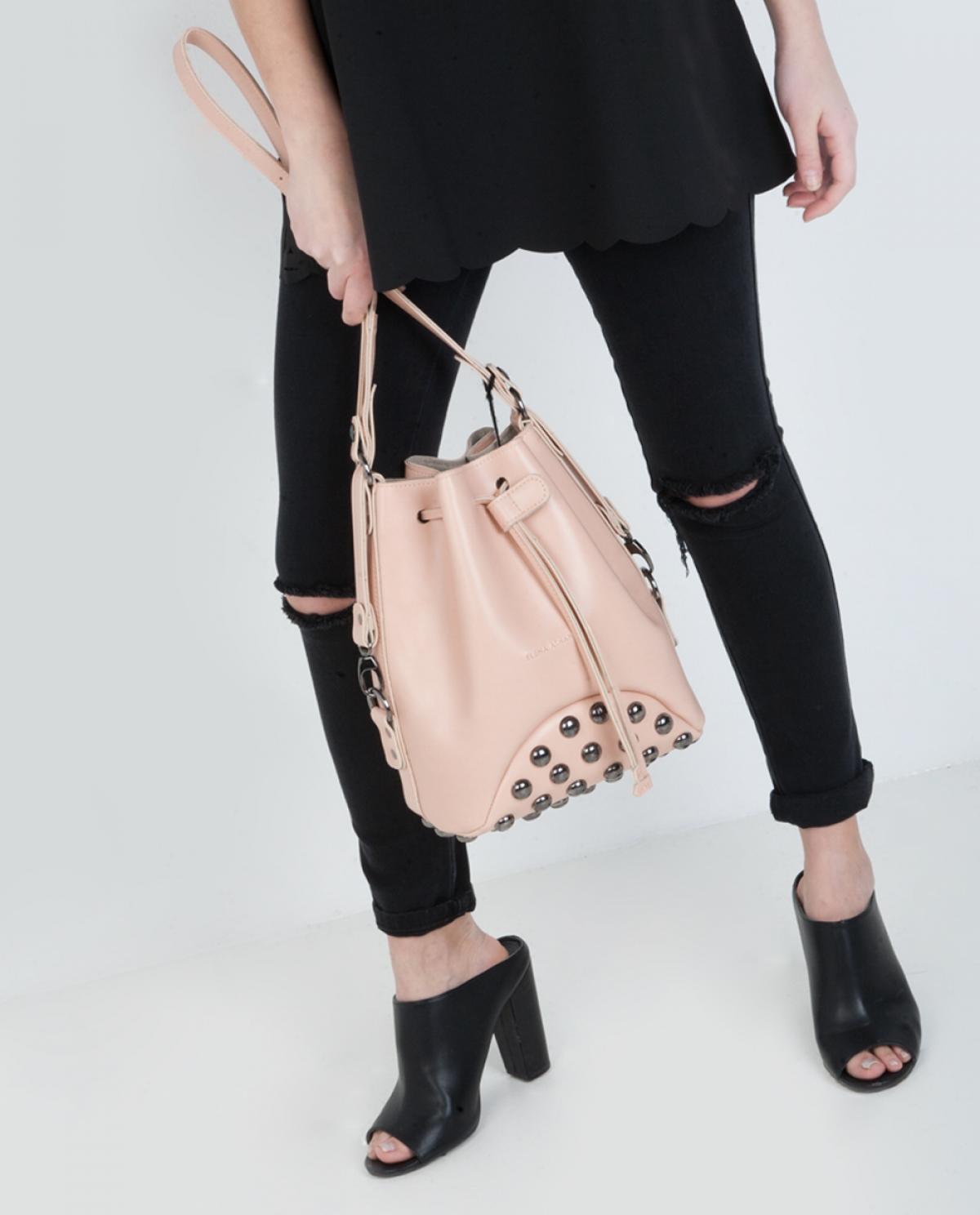 Pink Fresh Pouch Bag