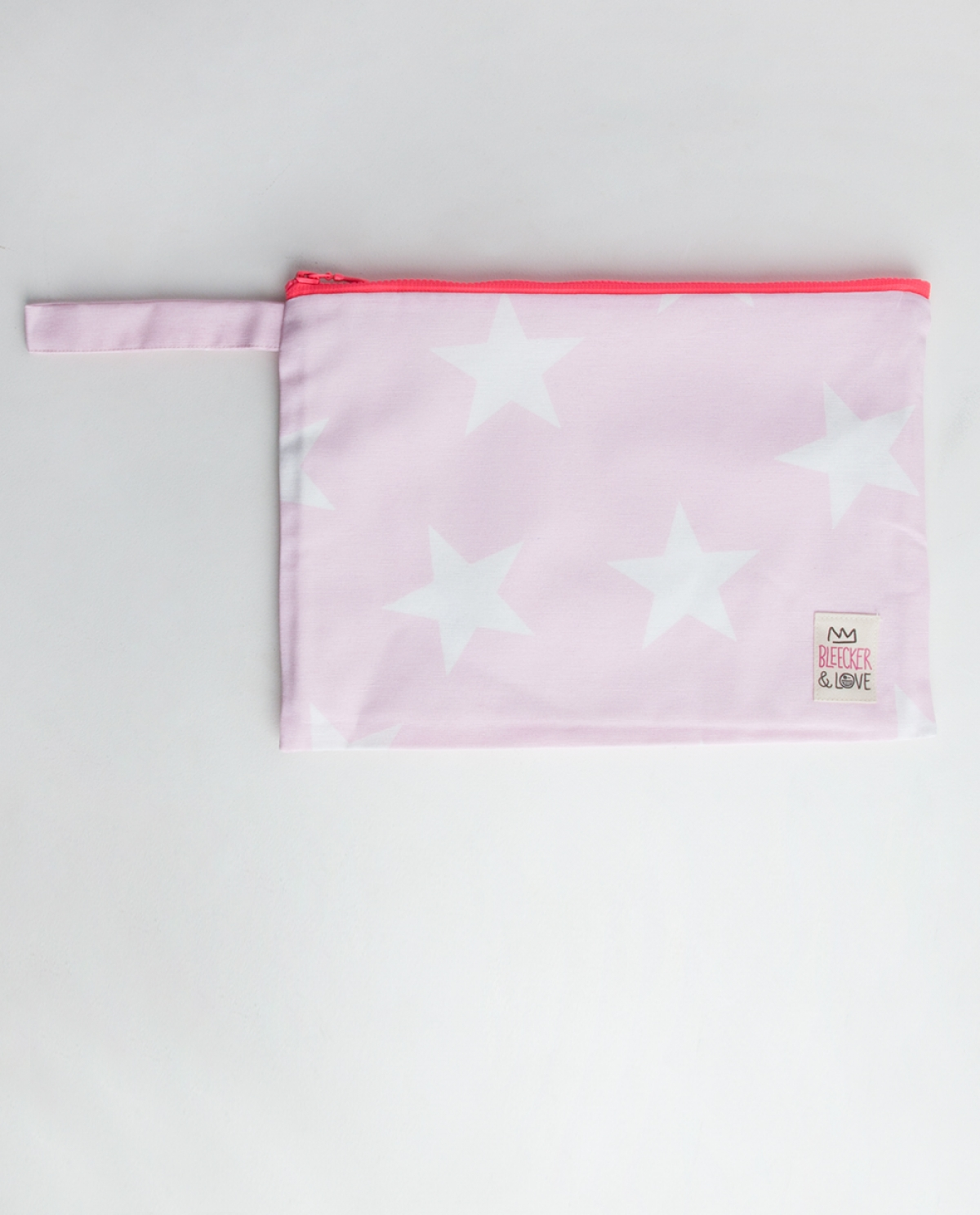 Pink Stars Medium Pochette Clutch