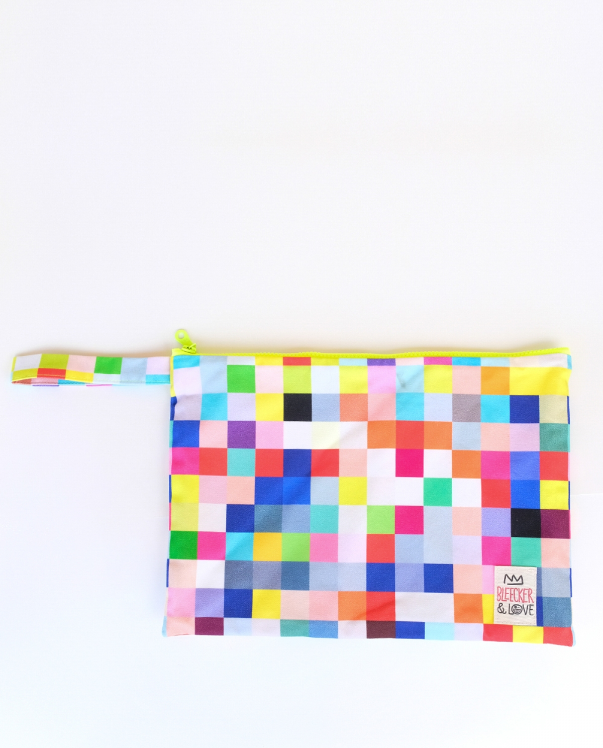 Pixel Medium Canvas Clutch